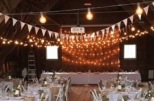 Restored Barn Wedding Reception
